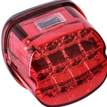 Harley LED Taillight red smoke
