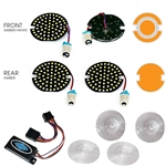 AC11 LED Complete Kit Turn / Run Harley Davidson Electra Glide, Road King, 2013 and Older
