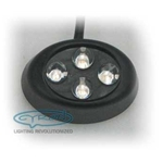Nugget 4 LED, Black finish - SPECIAL BUY
