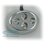 Nugget 4 LED, Chrome finish - SPECIAL BUY
