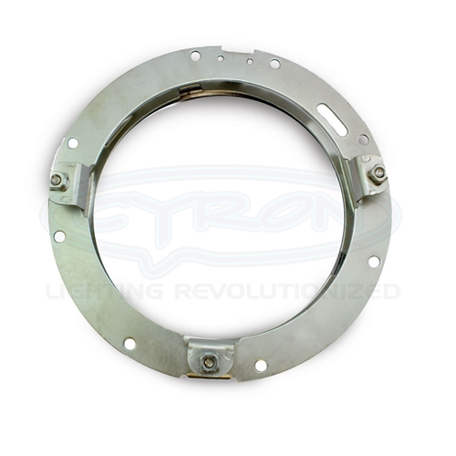 """Cyron Lighting ABIG7-RNG Mnting Ring for 7"""" Integrated H/L for 94-'13 HD Touring"""