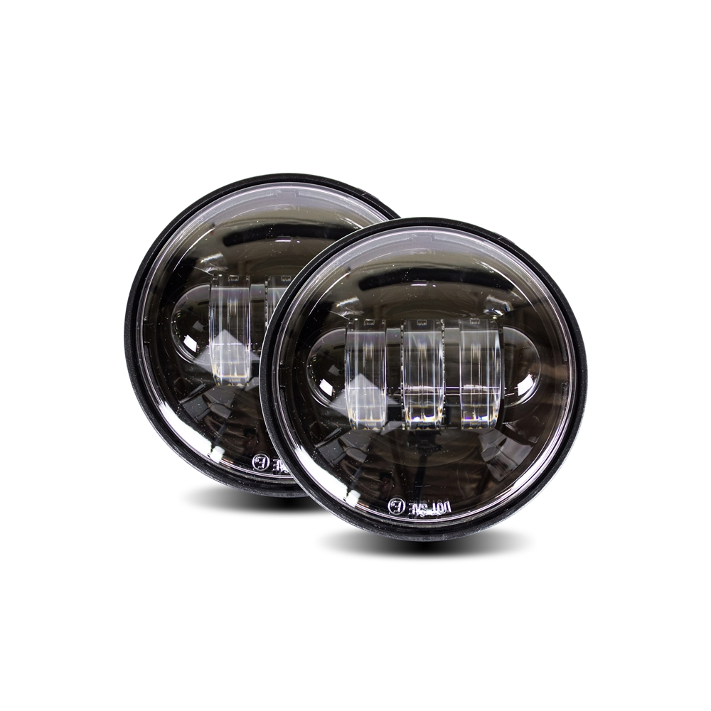 Cyron Lighting ABIG4.5-A6K Integrated Passing Lamp, Black for Indian Chieftain